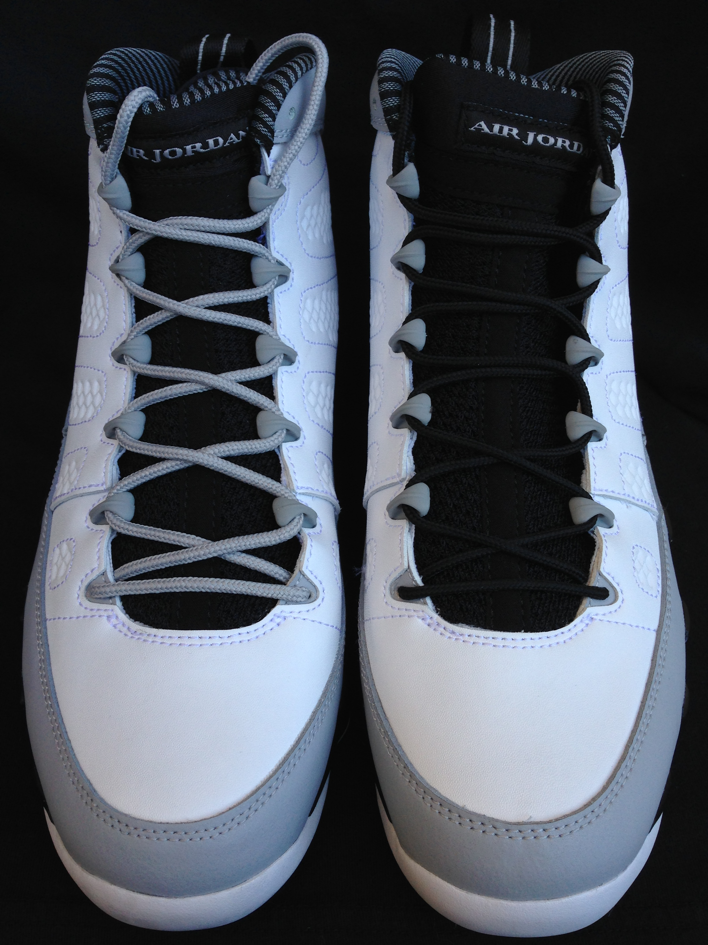 white shoe strings for jordans 4 s
